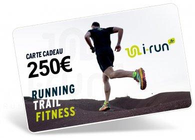 i-run.fr Carte Cadeau 250 M