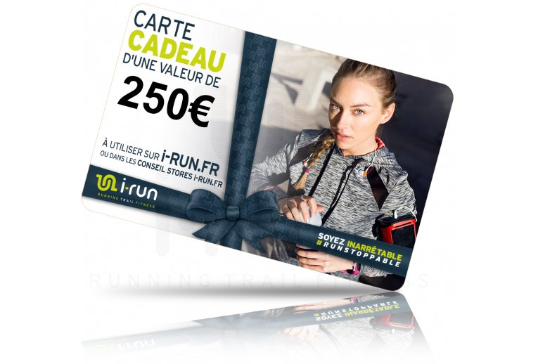 i-run.fr Carte Cadeau 250 W