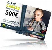 i-run.fr Carte Cadeau 300 W
