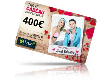 i-run.fr Carte Cadeau 400 Saint Valentin