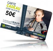 i-run.fr Carte Cadeau 50 W