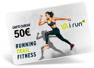 i-run.fr Carte Cadeau 50 W
