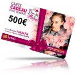 i-run.fr Carte Cadeau 500 Fête des Mères