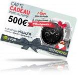 i-run.fr Carte Cadeau 500 Spéciale Noël - C