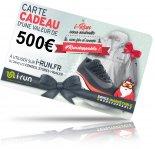 i-run.fr Carte Cadeau 500 Spéciale Noël - T