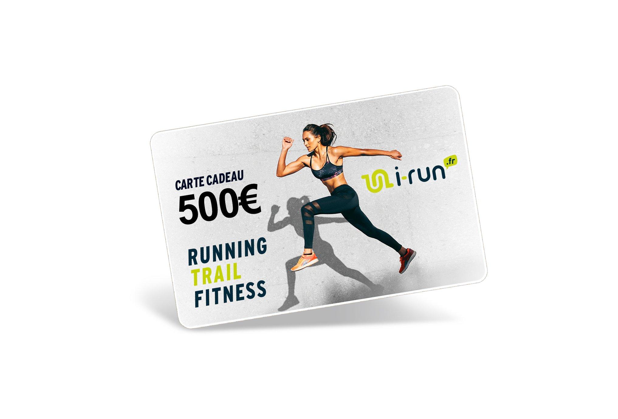 i-run.fr Carte Cadeau 500 W Cartes Cadeau