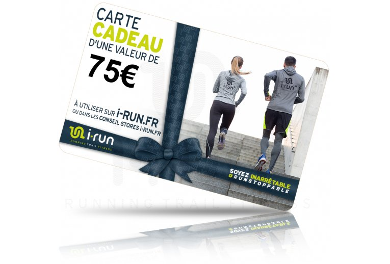 i-run.fr Carte Cadeau 75