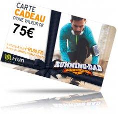 i-run.fr Carte Cadeau 75 Fête des Pères