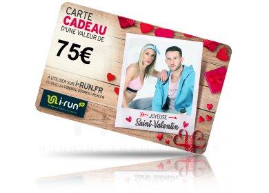 i-run.fr Carte Cadeau 75 Saint Valentin