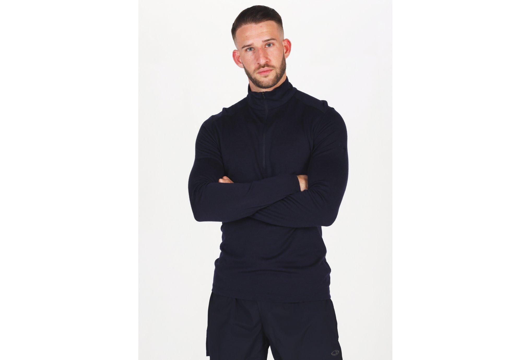 Icebreaker 200 Oasis 1/2 zip M Diététique Vêtements homme