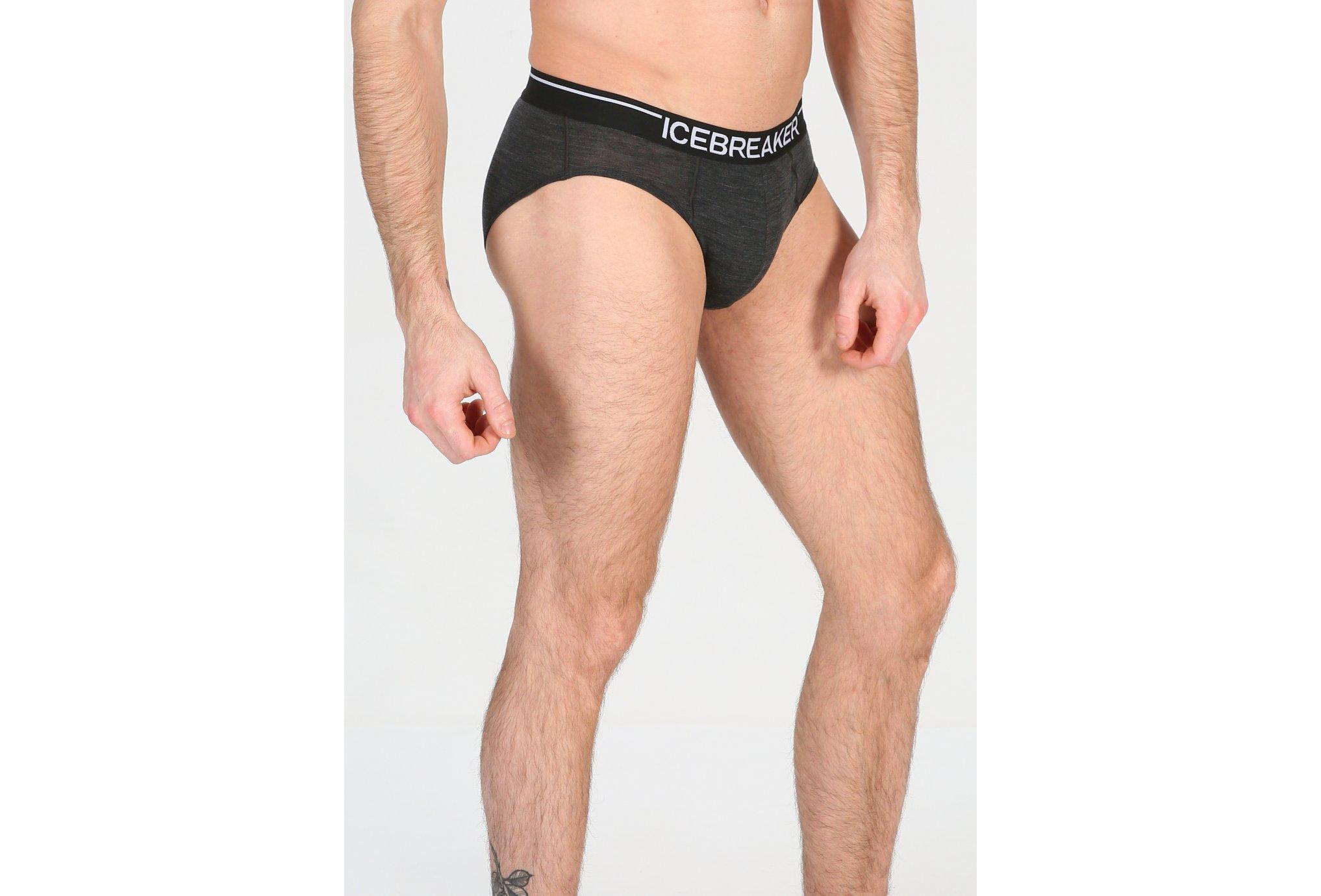 Icebreaker Anatomica Briefs M vêtement running homme