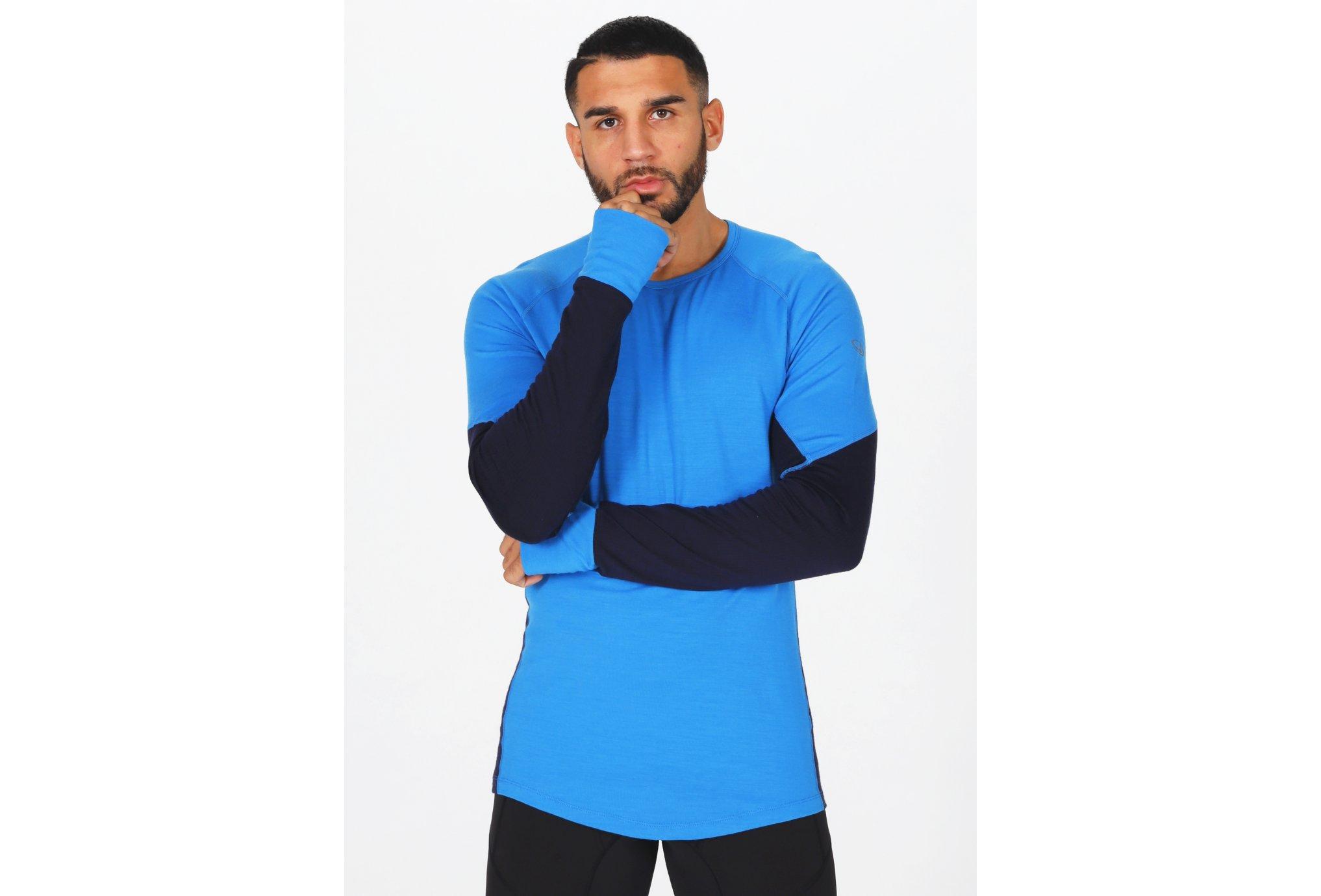Icebreaker BodyfitZONE 260 Crewe M vêtement running homme