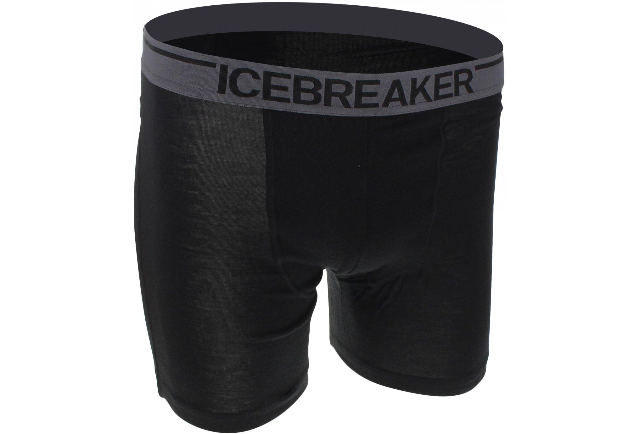 Icebreaker Boxer Anatomica M vêtement running homme