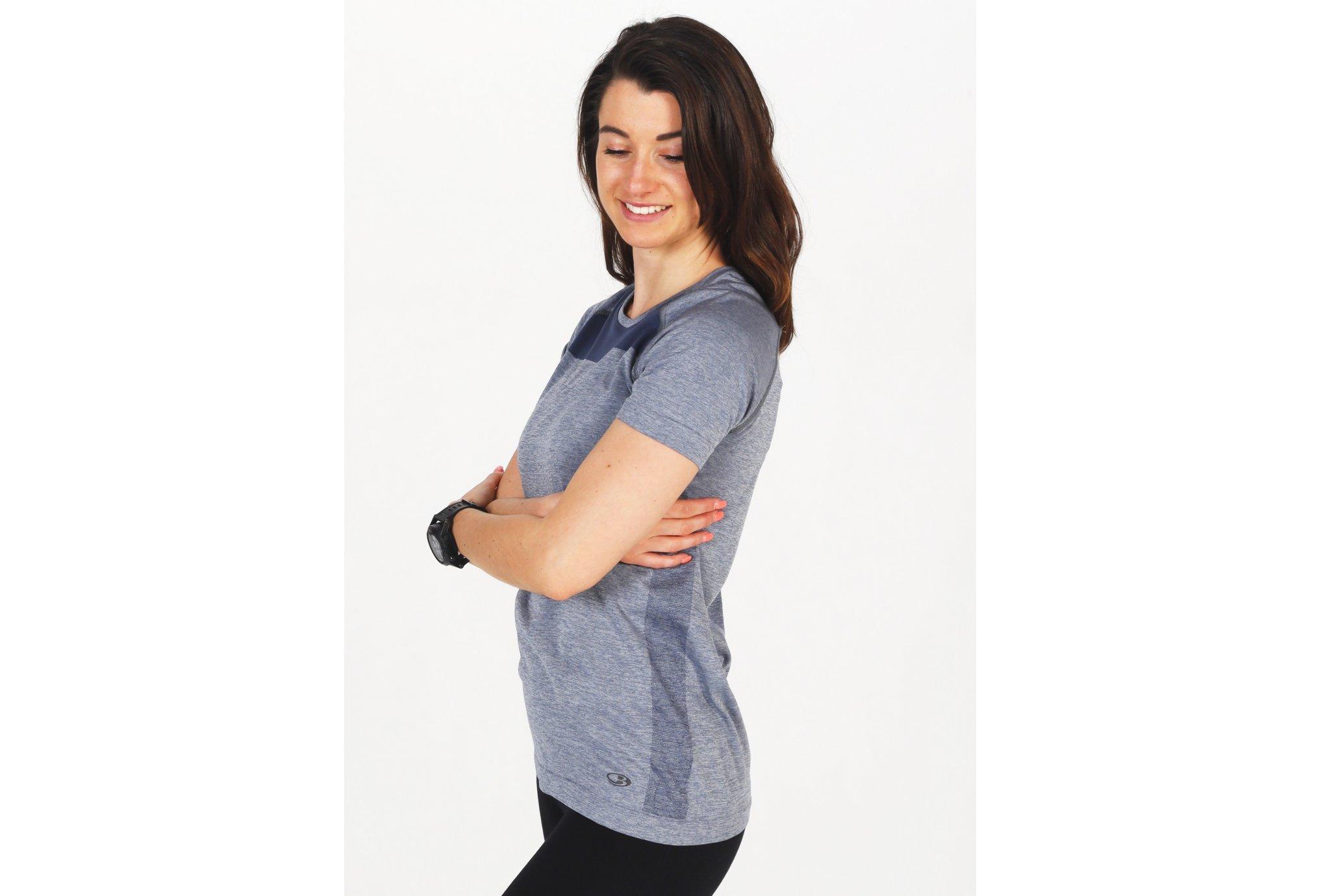 Icebreaker Motion Seamless W vêtement running femme