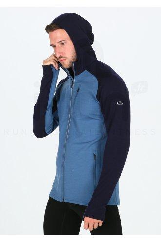 Icebreaker Quantum LS Zip Hood M