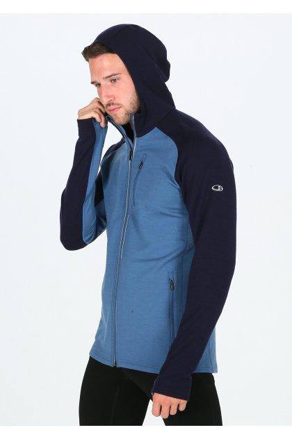 Icebreaker chaqueta Quantum LS Zip Hood