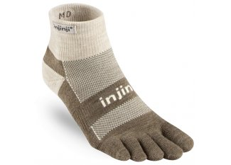 Injinji calcetines Outdoor Midhweight Mini-Crew Nuwool