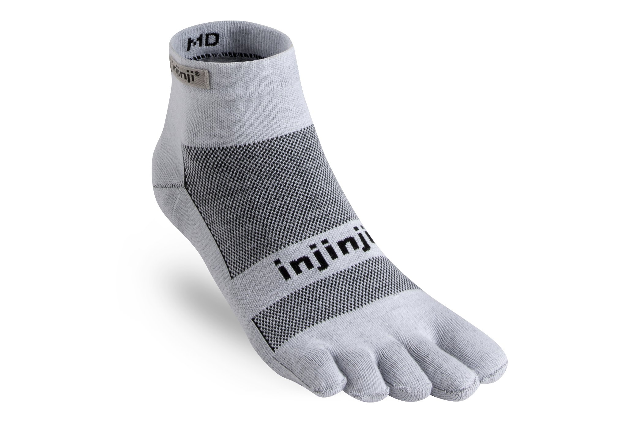 Injinji Run Lightweight Mini-Crew Coolmax Chaussettes