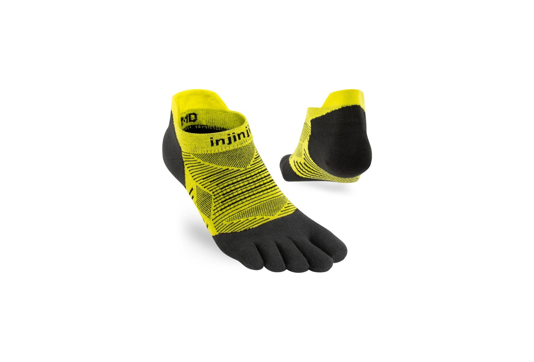 Injinji Run Lightweight No-Show Coolmax Chaussettes
