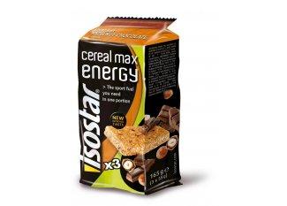 Isostar Barritas energéticas Max Energy- chocolate avellana