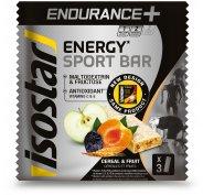 Isostar Barres Endurance + Céréales et Fruits