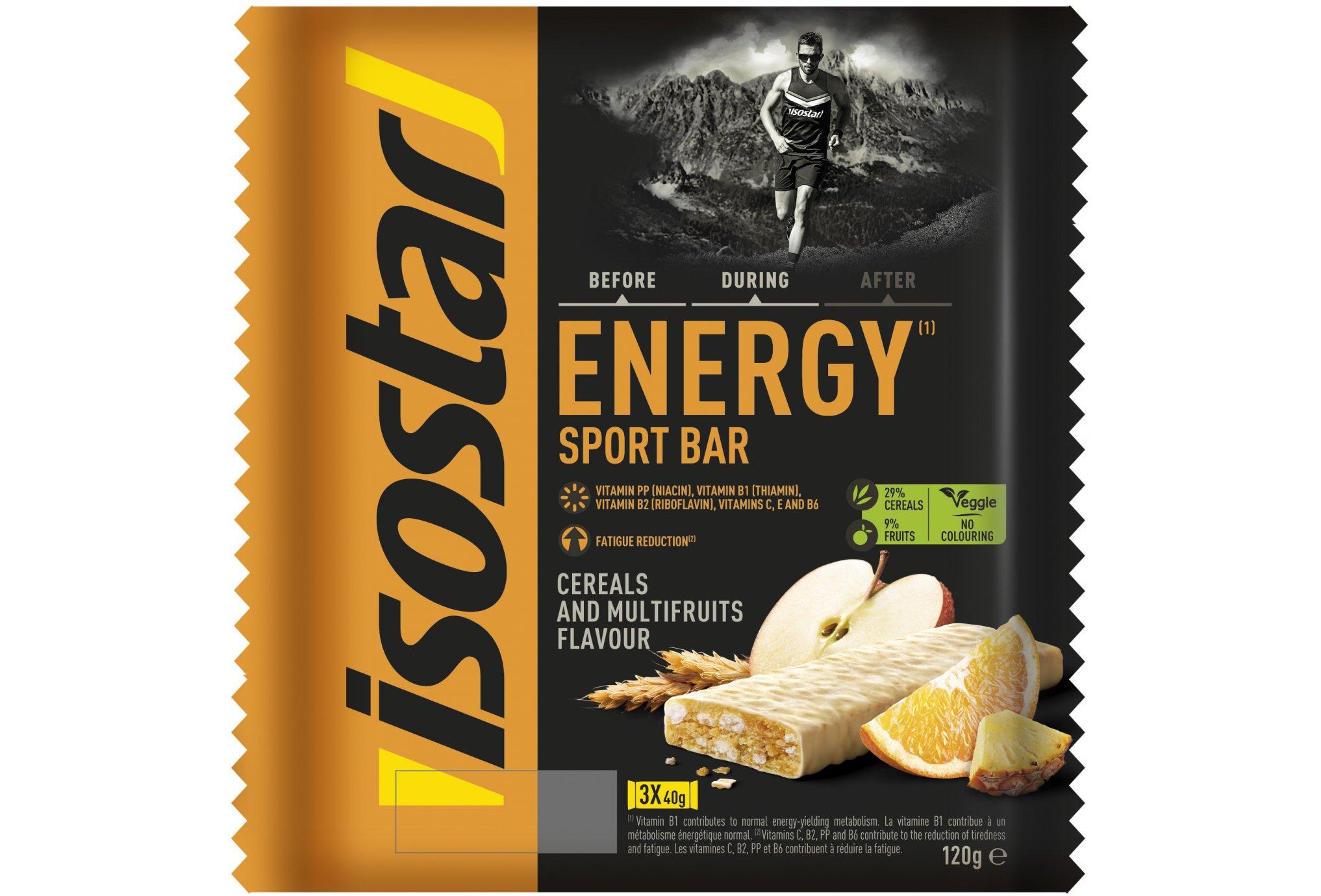 Isostar Barres High Energy - Multifruits Diététique Barres