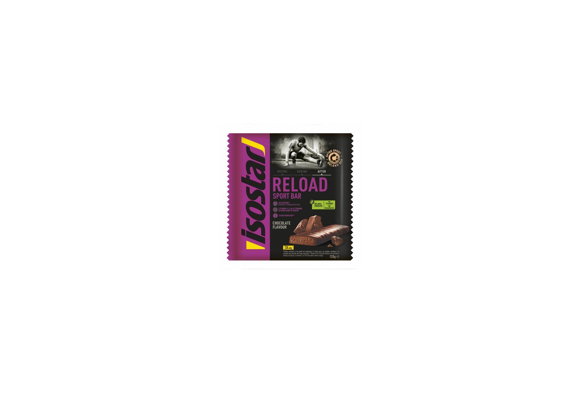 Isostar Barres Reload - Chocolat Diététique Barres