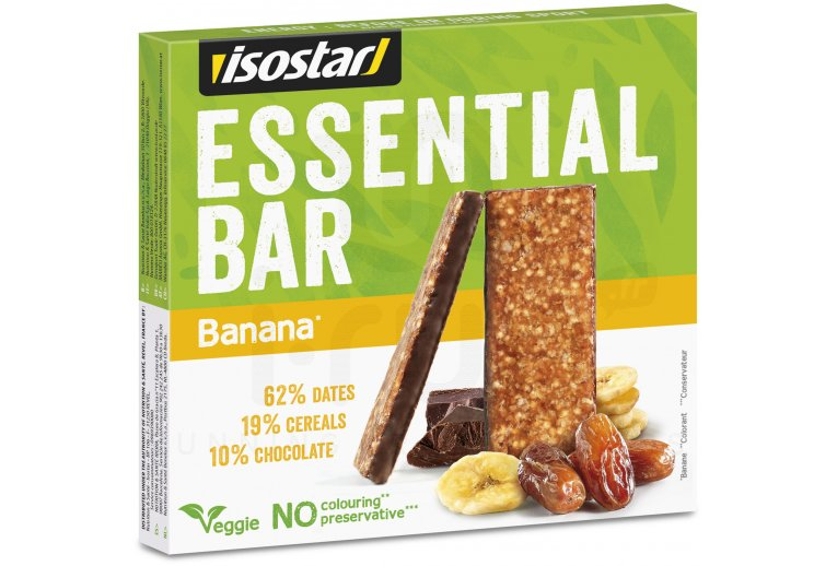 Isostar Pack barritas Essential Bar - Banana