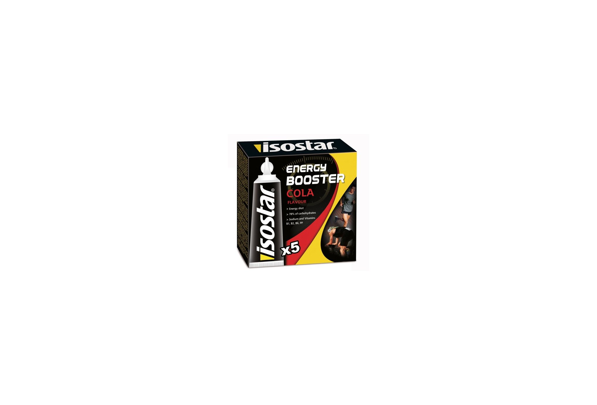 Isostar Gel Energy Booster - Cola Diététique Gels