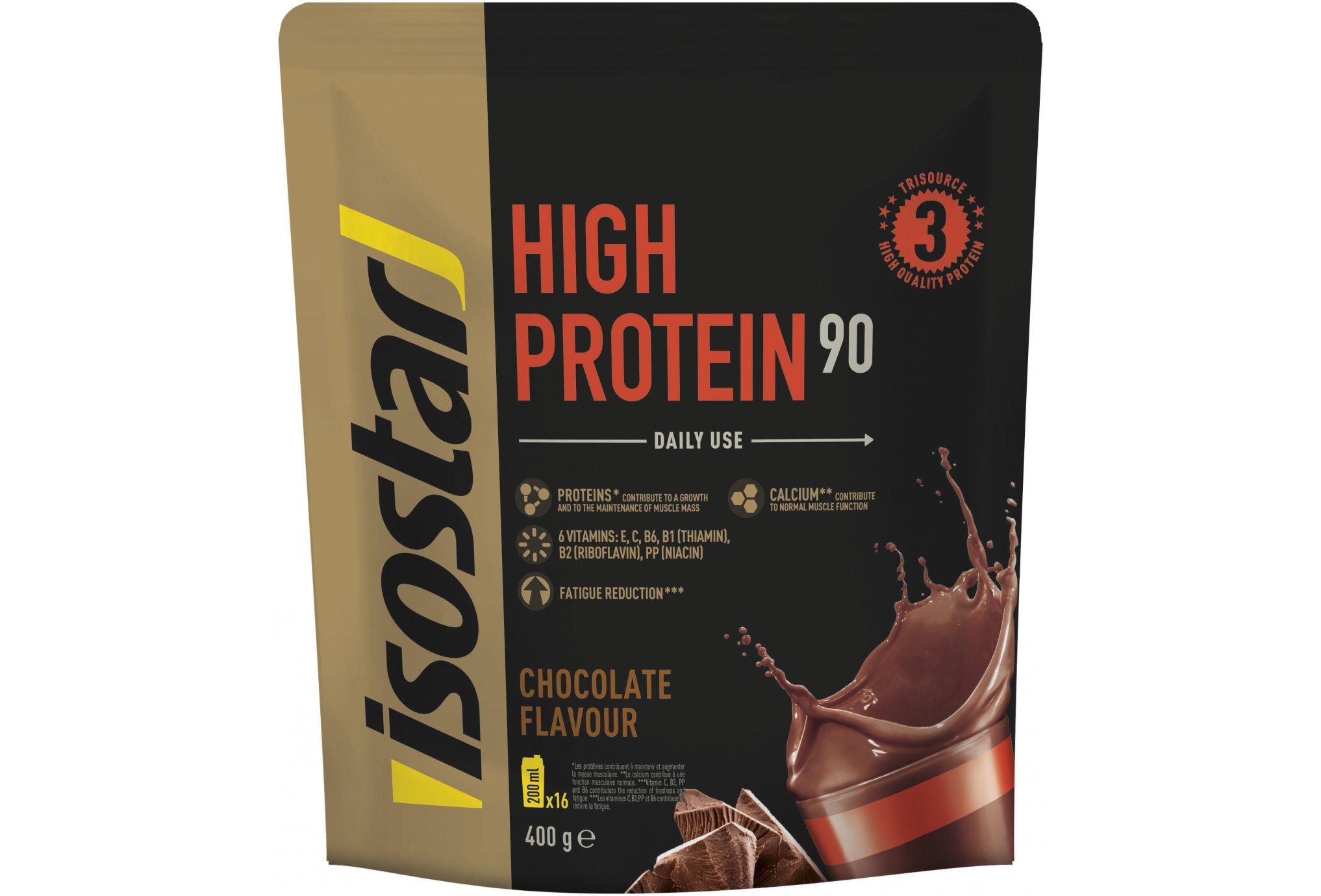 Isostar High Protein 90 - Chocolat Diététique Protéines / récupération