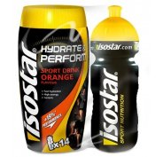 Isostar Lot Hydrate & Perform + Gourde offerte - Orange