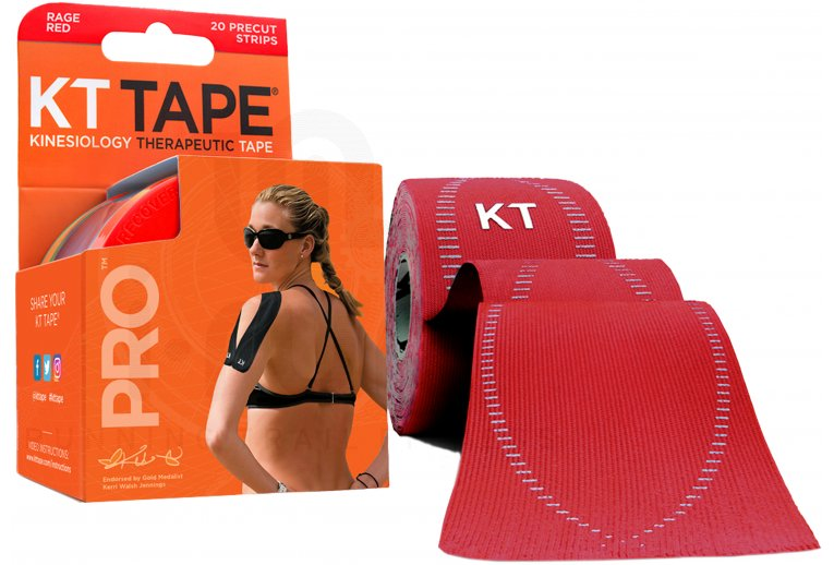 KT Tape Bandas KT Tape Synthetic Pro rojas