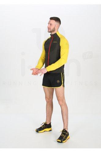 55/% OFF RETAIL La Sportiva Pace Running short-homme évacuant Ventilé avec poche