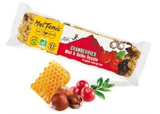 MelTonic barrita de cereales Bio - arándanos y avellanas tostadas