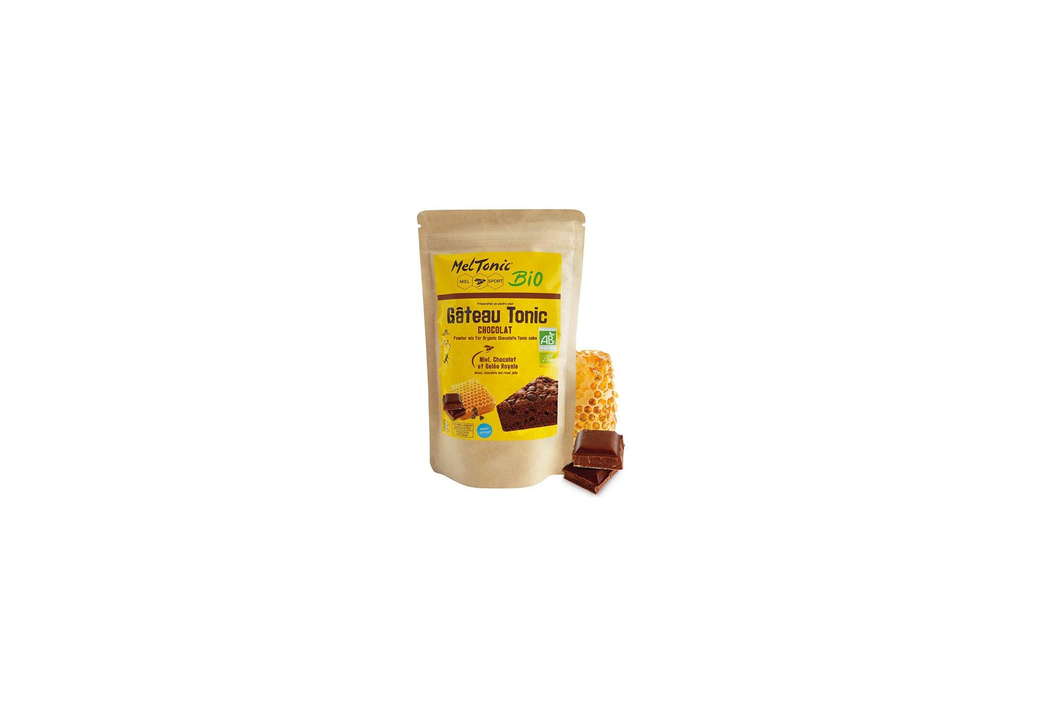 MelTonic Gâteau Tonic Bio - Chocolat Miel Diététique Préparation