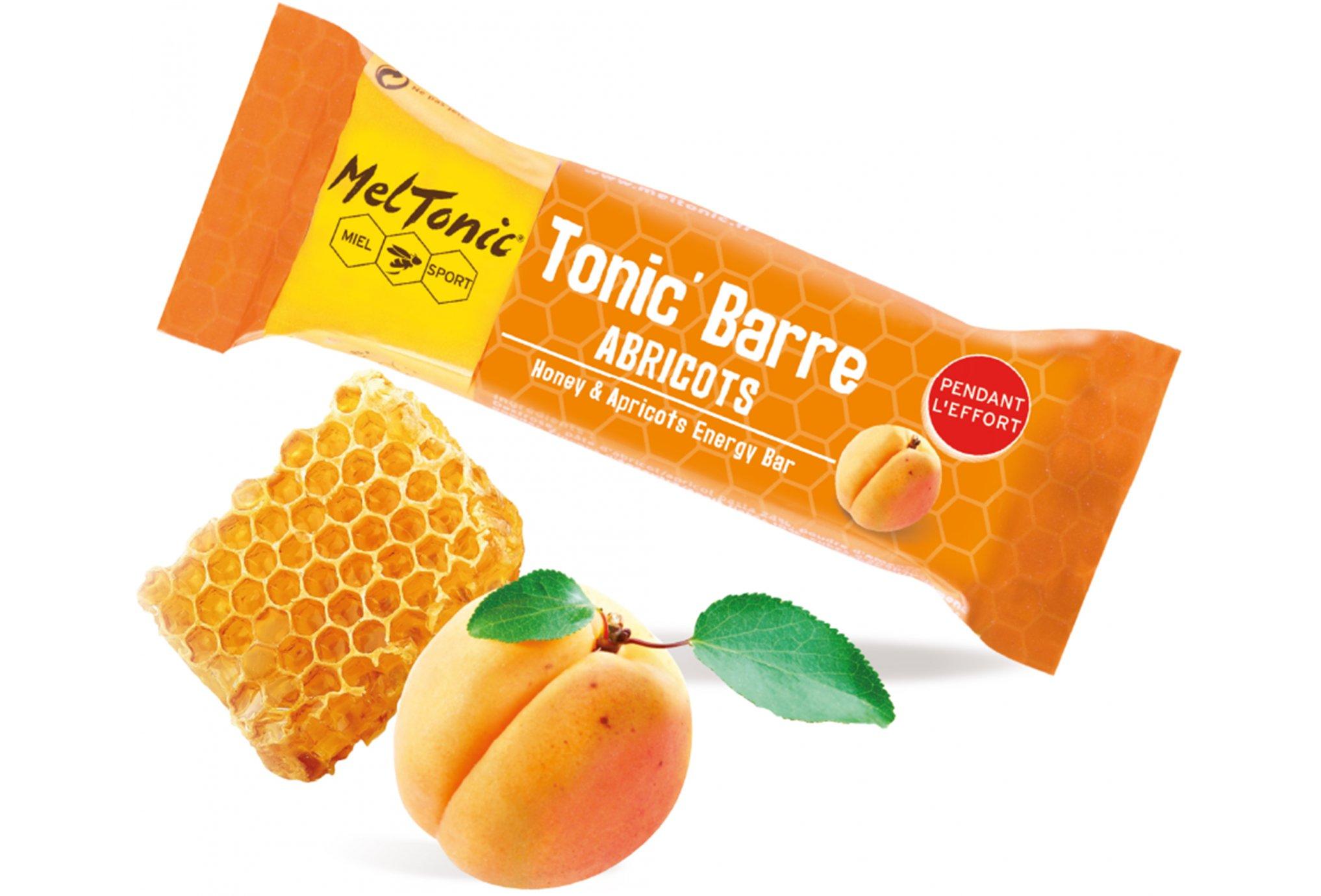 MelTonic Tonic'Barre - Albaricoque miel Diététique Barres