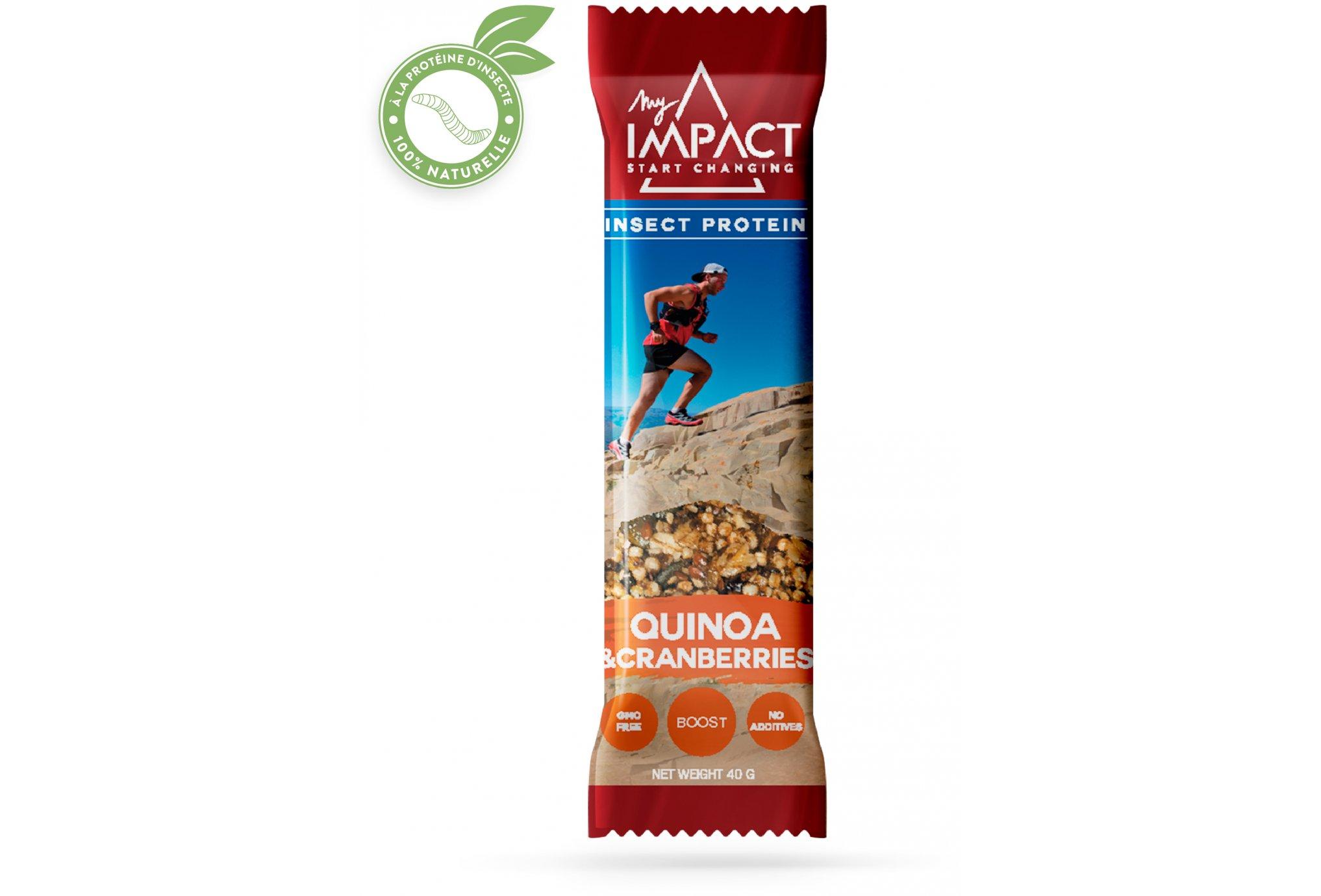 Micronutris My Impact - Quinoa et Cramberry Diététique Barres