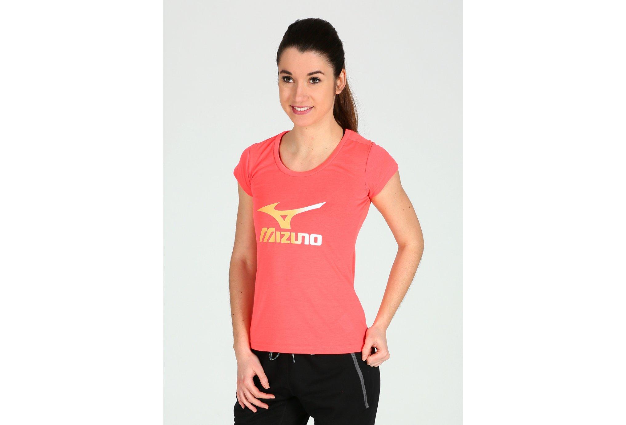 Mizuno Big Logo W Diététique Vêtements femme