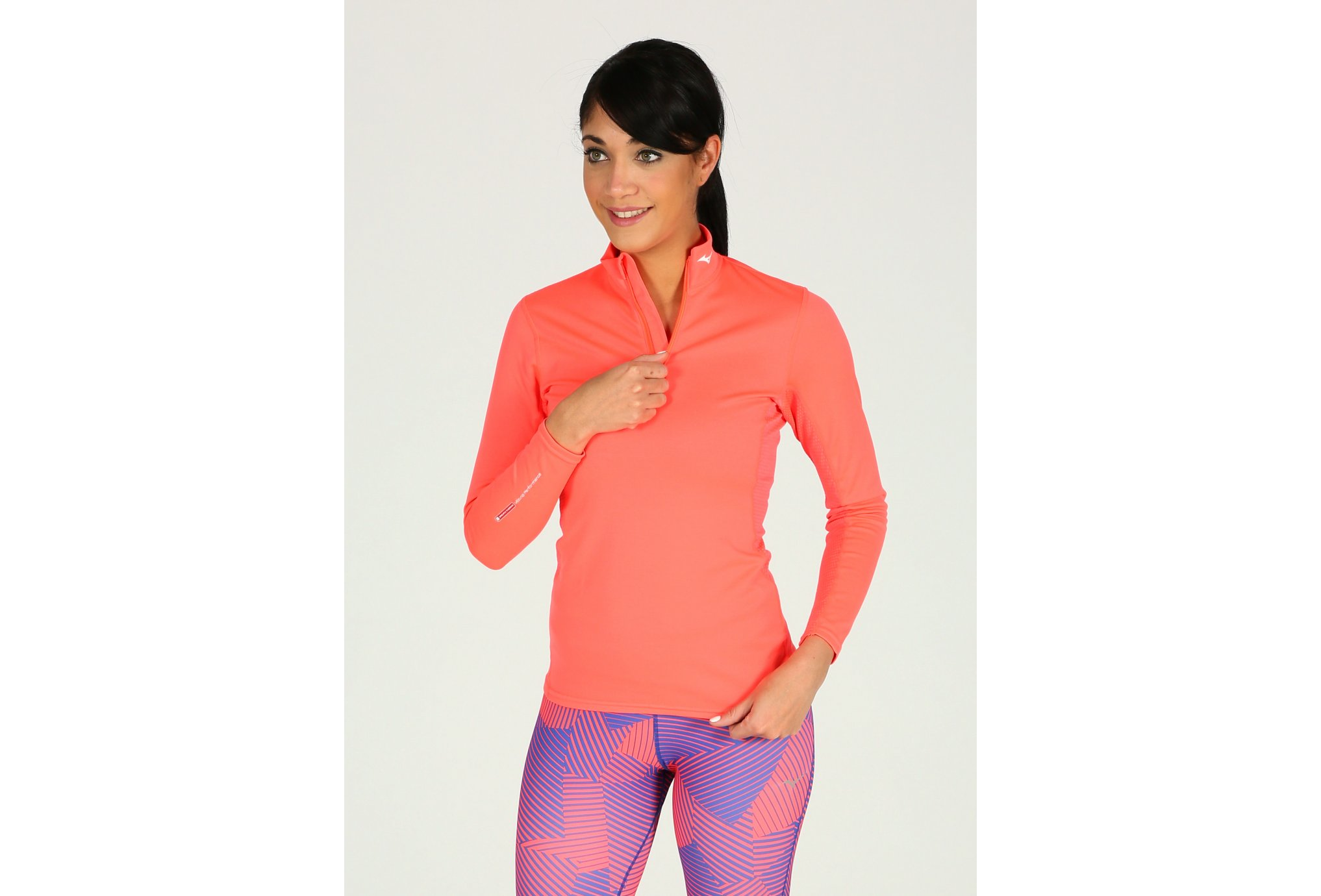 Mizuno Breath Thermo Middle Weight W vêtement running femme