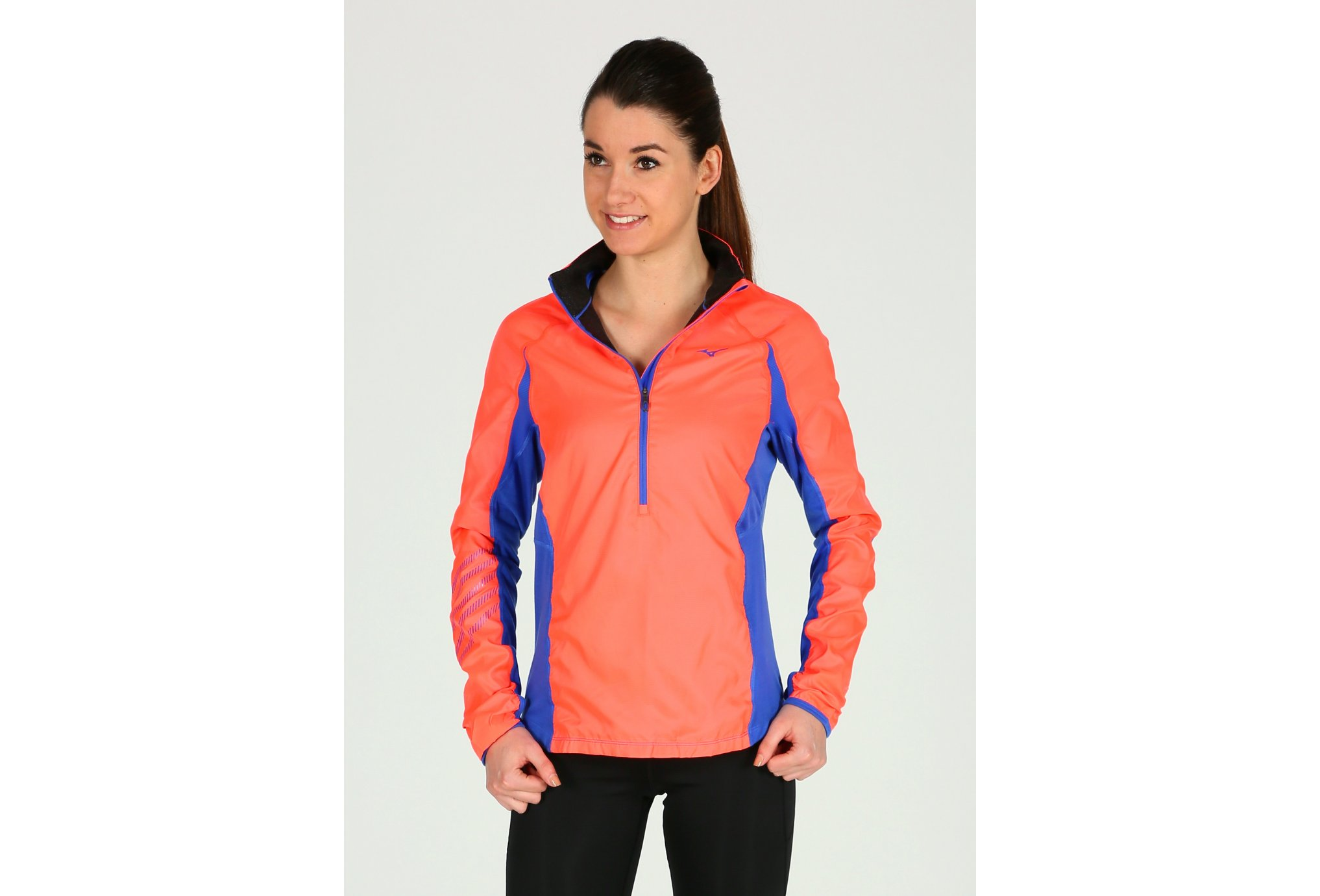 Mizuno Breath Thermo Premium Windtop W vêtement running femme