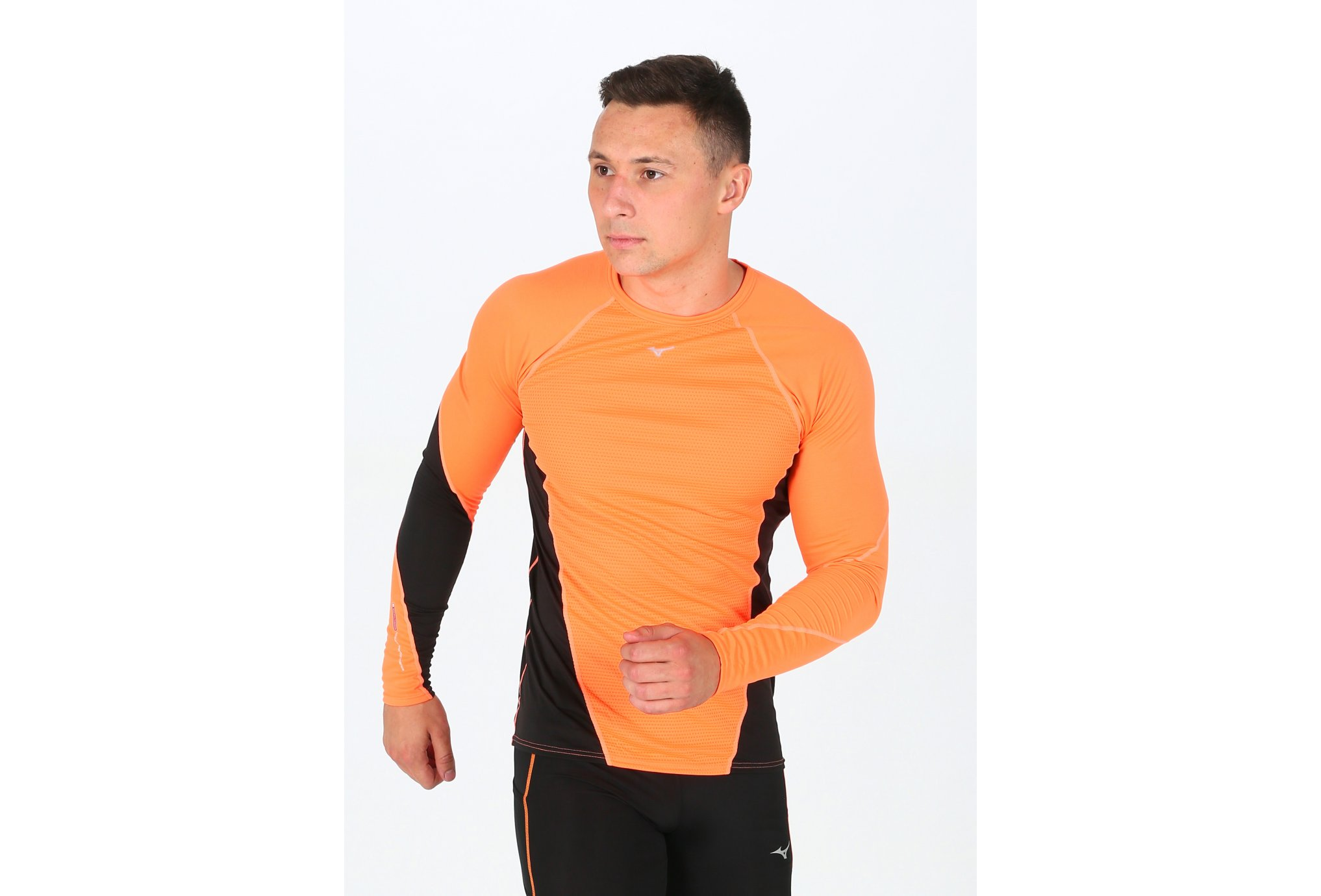 Mizuno Breath Thermo Virtual Body G1 M Diététique Vêtements homme