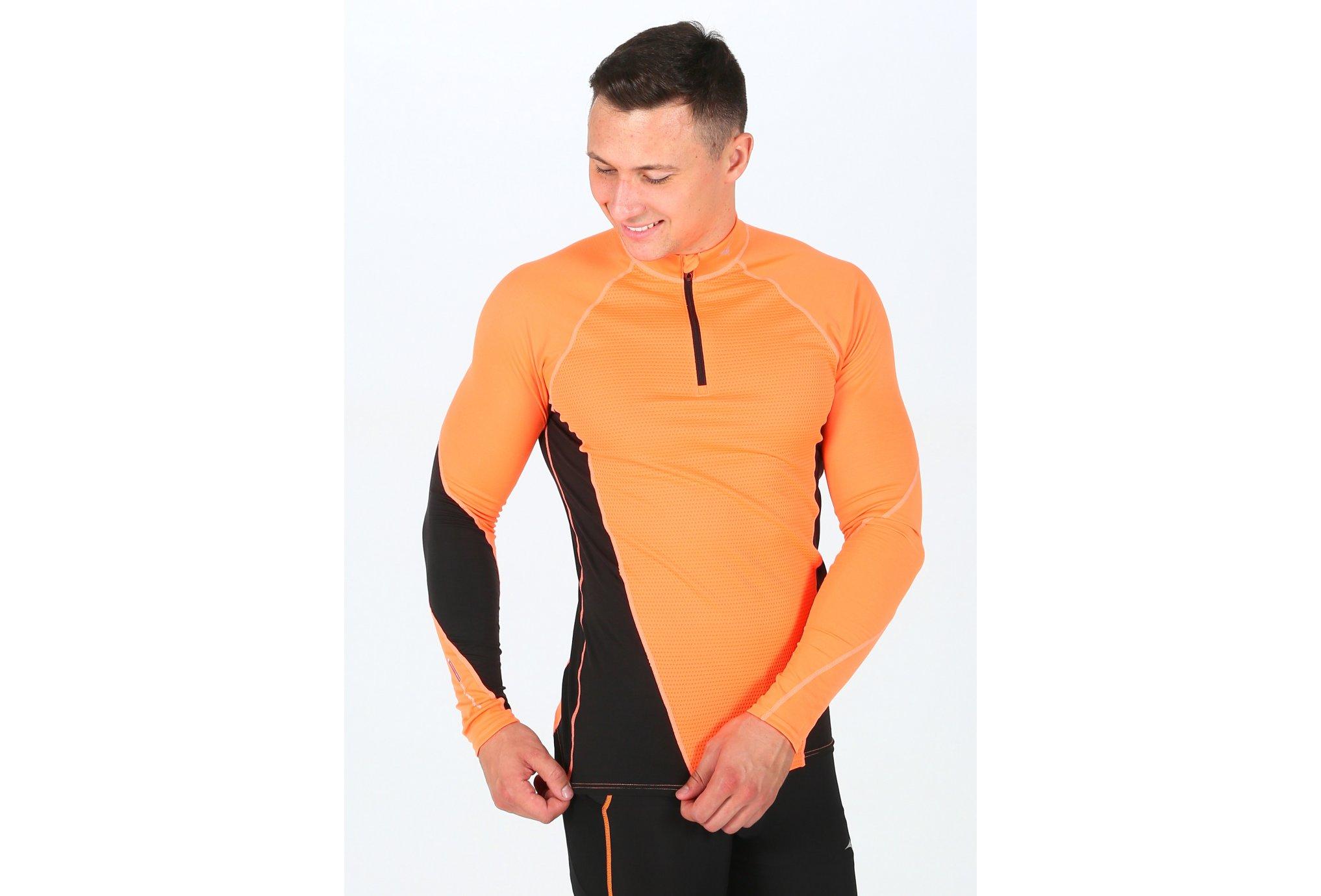 Mizuno Breath Thermo Virtual Body G1 M Diététique Vêtements homme