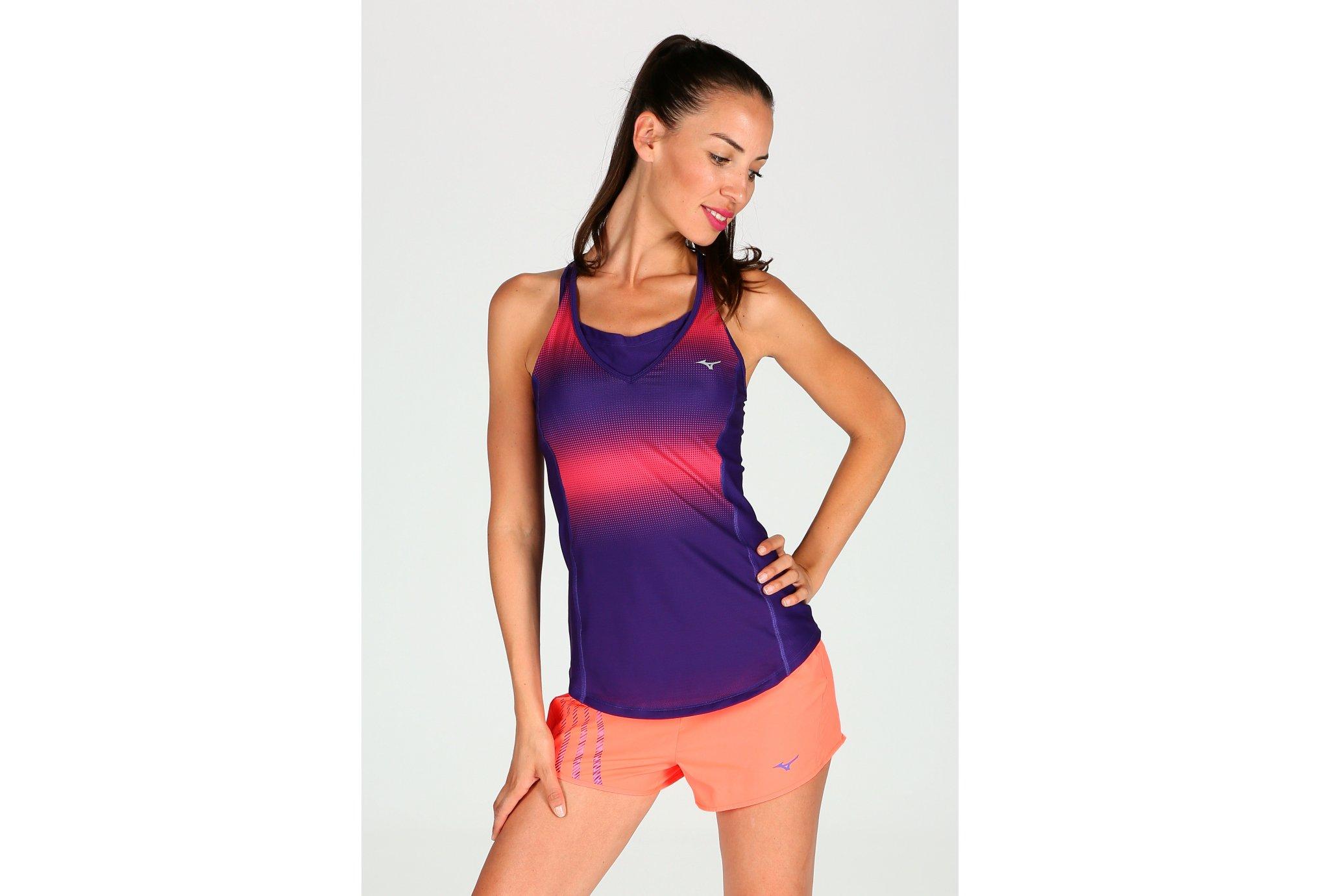 Mizuno Débardeur Speed Dot Support W Diététique Vêtements femme