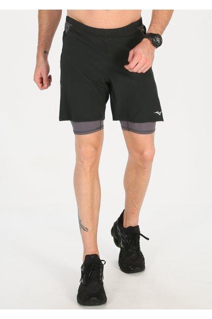 Mizuno pantalón corto Endura 7.5 2 en 1