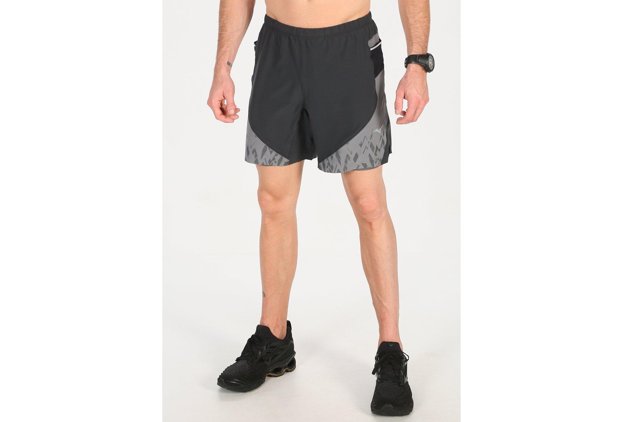 Mizuno Endura 7.5 2 en 1 M vêtement running homme