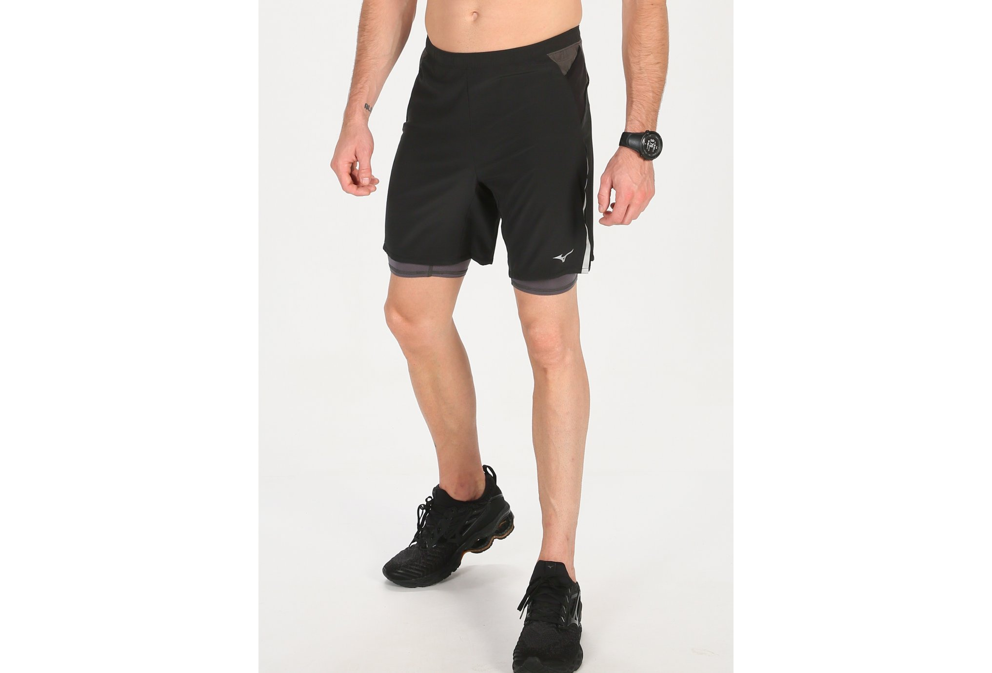 Mizuno ER 7.5 2 en 1 M vêtement running homme