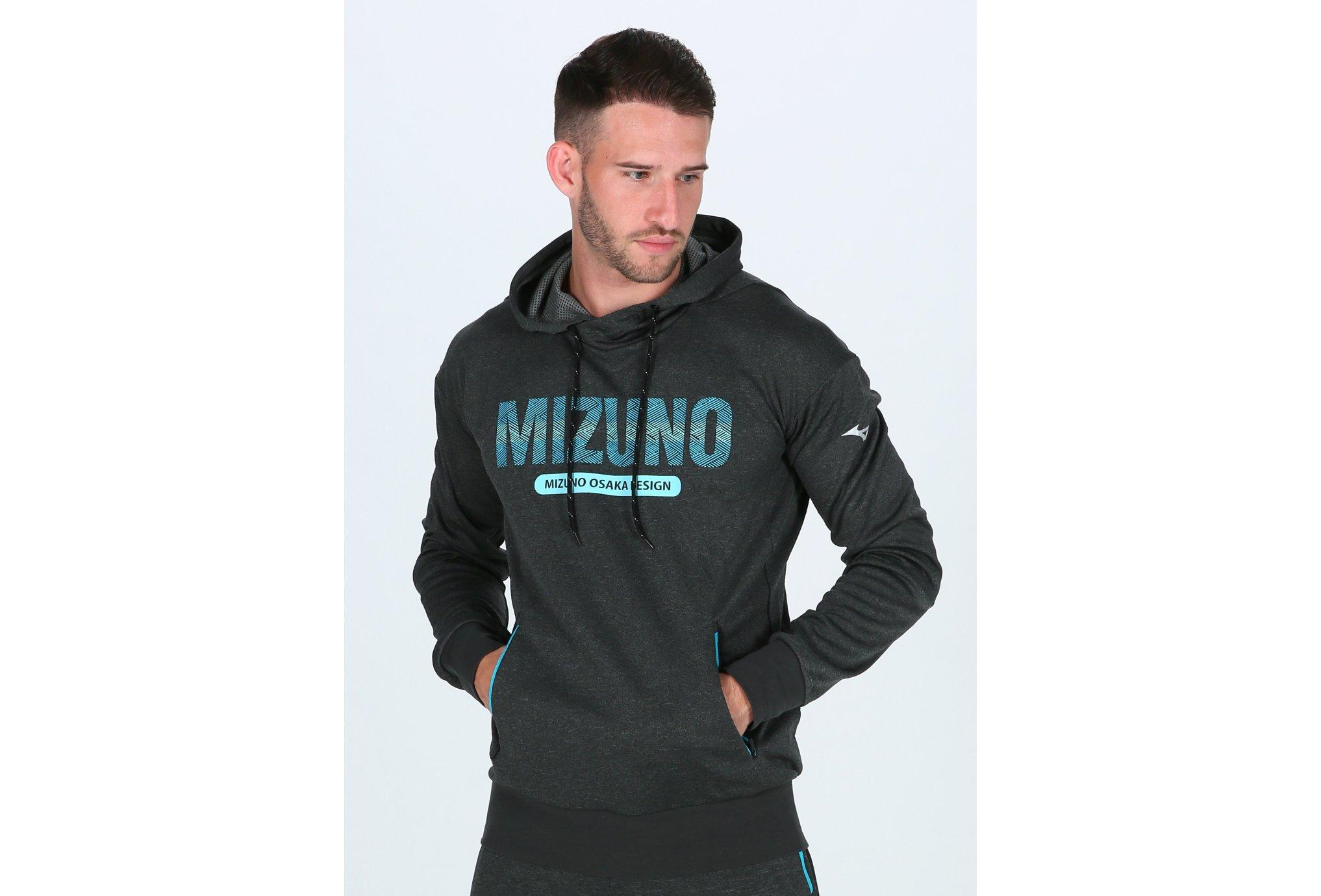 Mizuno Heritage Hoody M Diététique Vêtements homme