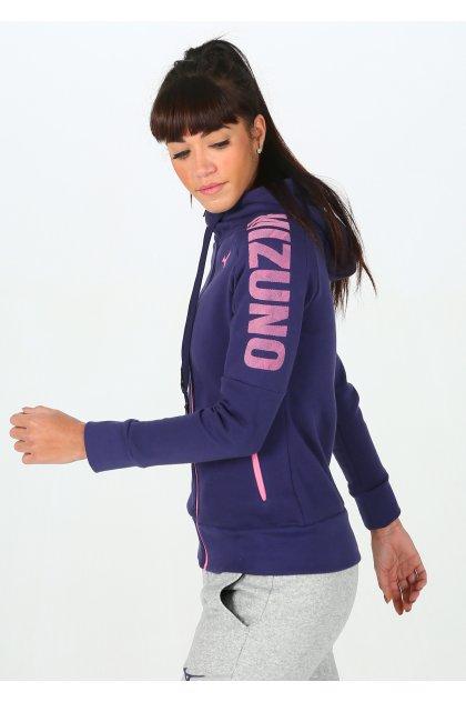 Mizuno chaqueta Heritage Zip Hoody