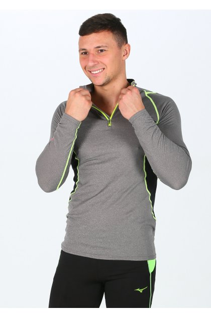 Mizuno Camiseta manga larga Merino Wool 1/2 Zip