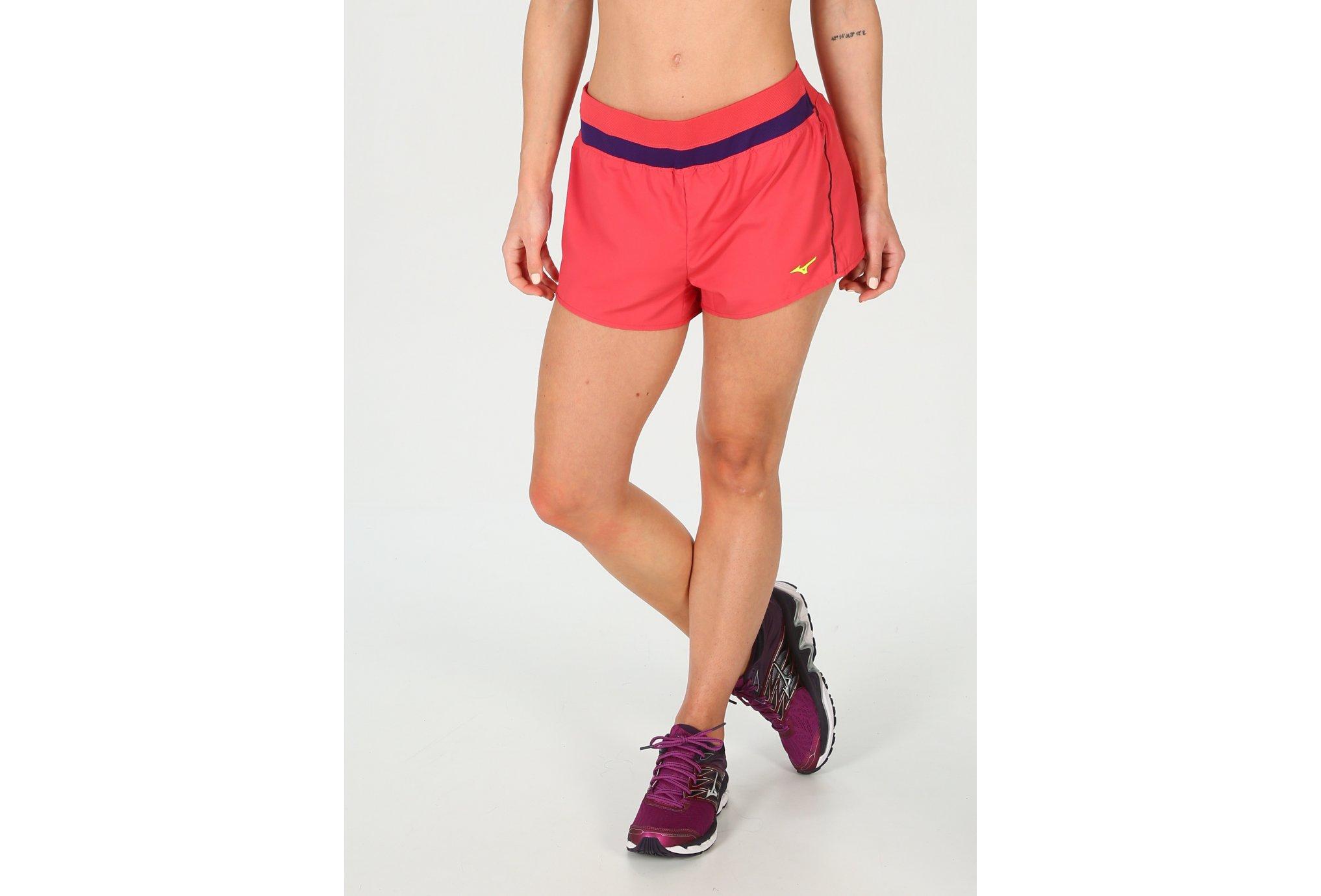 Mizuno Short Helix Square 2.5 W vêtement running femme